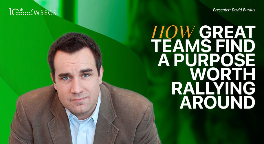 Coach-Led Q&A with David Burkus - How Great Teams Find A Purpose Worth Rallying Around Photo