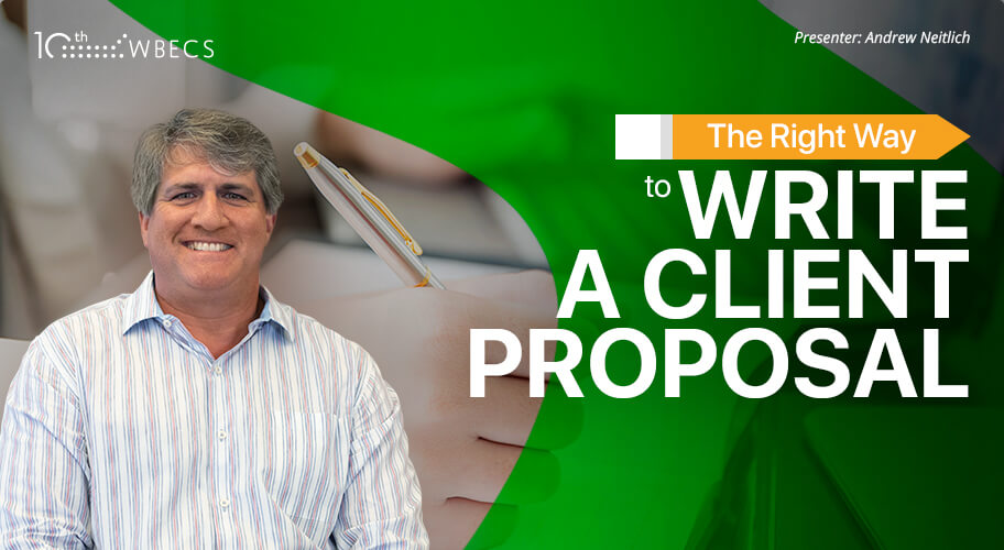 The Right Way to Write a Client Proposal