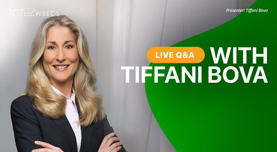 Live Q&A with Tiffani Bova